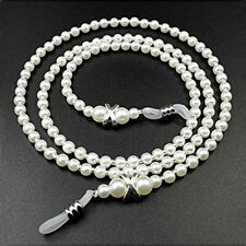 Fashion Pearl Eyeglass Chains Eyewear Ornament Reading Glasses Lanyard Strap2019