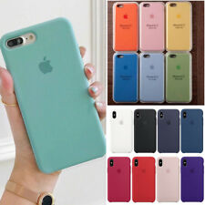 Original Silicone Case Silikon Hülle Fit For Apple iPhone 11 8 7 Plus XR XS Max