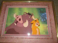 Lion King Hakuna Matata Disney limited edition Cel