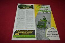 John Deere Manure Loaders and Spreaders For 1965 Dealer Brochure DCPA3