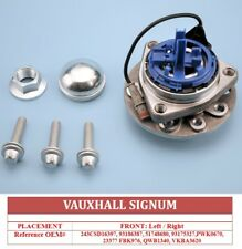 VAUXHALL VECTRA C 1.9 cdti FRONT WHEEL BEARING HUB ASSEMBLY ABS/IDS 05-09