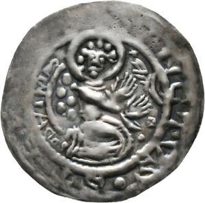 Halberstadt Brakteat Ulrich von Reinstein, 1149-1160 Münze Coin