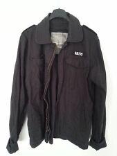 SURPLUS Heritage Vintage Jacke XL Army Freizeit Militär Feldjacke schwarz top