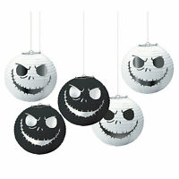 The Nightmare Before Christmas Paper Lanterns - Party Supplies - 5 Pieces