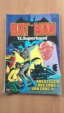 BAT MAN  SUPERBAND 15  EHAPA DC 1982