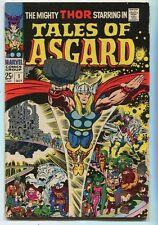 Tales Of Asgard #1 VG-    Marvel Comics SA