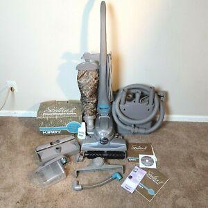 Kirby Sentria II 2 Bagged Upright Vacuum Cleaner w/Attachment Set & Shampooer