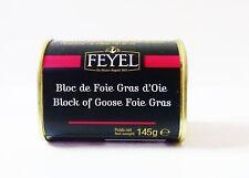 Foie Gras d´OIE Gänseleber Bloc Feyel 145g Dose original aus Frankreich !