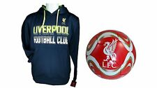 Liverpool F.C. Official Soccer Hoodie Jacket & Size 5 Ball 06-1 XL
