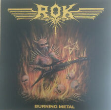 ROK - Burning Metal LP - Colored Vinyl Album - NEW Sadistik Exekution Record