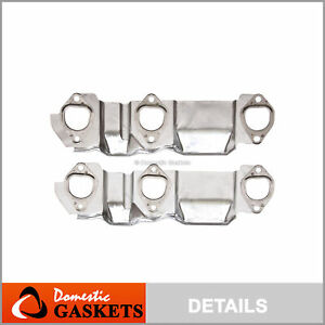 93-09 Chevrolet Buick Pontiac Oldsmobile 3.1L 3.4L OHV Exhaust Manifold Gaskets