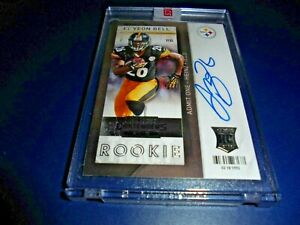2013 Panini Contenders F/ball Rookie Ticket RPS VAR Auto RC 221 Le'Veon Bell