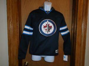 Winnipeg Jets Reebok Faceoff Apparel Youth Size L(14-16) Hooded Sweatshirt NWT