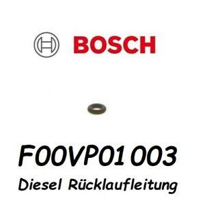 Bosch F 00V P01 003 Injektor Injektoren Rücklauf Dichtung O-Ring Einspritzdüse