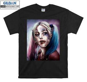 Harley Quinn Joker Suicide T-shirt Squad T shirt Men Women Unisex Tshirt 2466