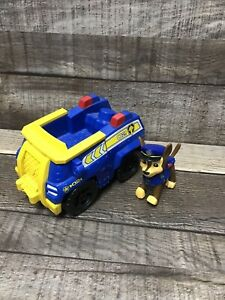 Paw Patrol Chase & Sea Rescue Police Truck Car Vehicle~2 Pc Lot Great Condition!