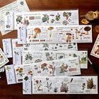"""Nature Chat"" Cute Split Masking Washi Tapes Scrapbooking DIY Decor Stickers"