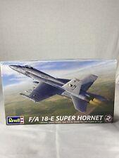 REVELL F-18-E SUPER HORNET 1/48 Scale - Open Box Open Plastic Unpunched