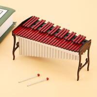 Mini Xylophone Miniature Wooden Musical Instruments Model Ornaments Home Decor