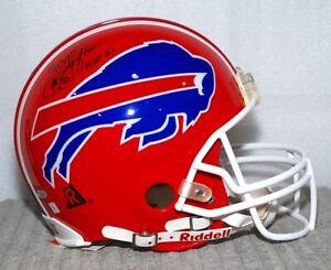 James Lofton Autographed Buffalo Bills Riddell F/S Pro Line Helmet / COA