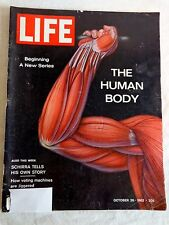 LIFE Magazine OCTOBER 26 1962 Human Body Great Ads and Articles See Photos