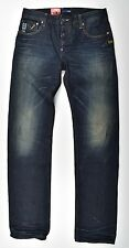 G-Star Raw, Attacc Low Straight, Used Vintage Look Jeans W32 L36 NEW