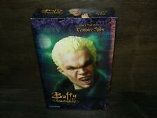 """SIDESHOW VAMPIRE SPIKE BUFFY THE VAMPIRE 12"""" TV FIGURE NEW SEALED MARSTERS BOXED"""