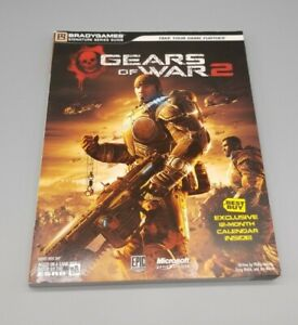 Gears Of War 2 Brady Games Strategy Guide (Official) xbox 360