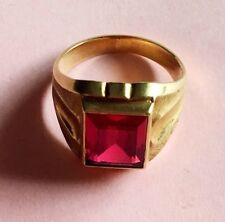 Acid Tested 10K Yellow Gold Ring, Size 6, Weight 4.868g