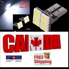 2X T10 LED 194 168 4SMD Car CANBUS Bright License Light Bulb White.Free shipping