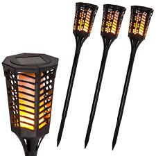 Solar Gartenfackel 60LED's flackernde Fackel Tanzende Flame Feuer Optik Garten