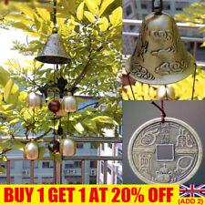 More details for wind chimes large copper bells hanging garden yard home decor outdoor uk