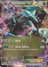 POKEMON B&W PLASMA STORM CARD:  BLACK KYUREM EX - 95/135 - ULTRA RARE HOLO