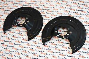 Pair of Rear Disc Shields Astra G & H/Combo C/Meriva A & B & Zafira A & B NEW