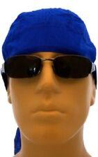 Royal Blue Durag Doo Rag Skull Cap Headwrap Bikers Paintball Sports Bandanna