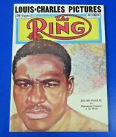 December 1950 RING MAGAZINE ~ EZZARD CHARLES ~  ORIGINAL VINTAGE BOXING
