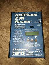 "Curtis Esn Reader Model 5900 ""C� - Cellular Phone Esn: Electronic Serial Number"