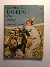 1960 Major League Baseball Annual by Ford Frick and Tom Meany- Minor Wear GC
