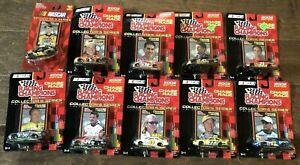 2002 Nascar Racing Champions Stock Cars 1/64 DieCast Lot of 10 NewInBox No Dups