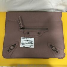 BALENCIAGA Paris Genius Leather Apple iPad Tablet Cover BNIB Gucci Bottega Italy