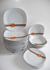 superbe service assiettes Porcelaine as vintage années 70's