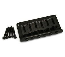 Gotoh Black Hardtail 6-string Guitar Bridge SB-5115-003