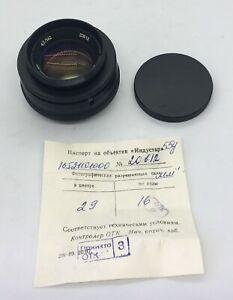 Lens INDUSTAR 55U 4,5/140 BeLOMO plant M42 screw / for enlarger