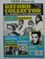 RECORD COLLECTOR MAGAZINE - Issue 216 August 1997 - REM / Kula Shaker
