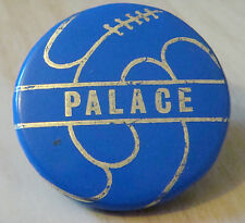 CRYSTAL PALACE FC Genuine late 1960s button badge 37mm Dia
