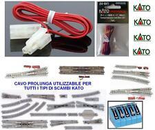 KATO NEW 24-841 CAVO PROLUNGA CM.90 PER SCAMBI & ALTRO