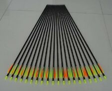 """12) 30"""" GP shooting/hunting fiberglass arrow with thread point for compound bow"""