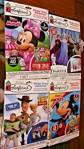 Disney Colorforms - 4 sets - New - Mickey - Minnie - Toy Story - Frozen II
