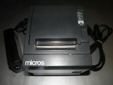 Micros Epson TM-T88III M129C  Thermal POS Receipt Printer IDN with Power Cable