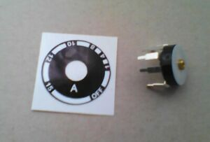 Ferret Finder Switch and Sticker 15ft (Terrier Locator)